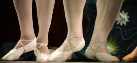 balletic: UKRAINE, LUGANSK - February 5, 2014  Donetsk Opera dancers perform The Nutcracker Ballet in Lugansk