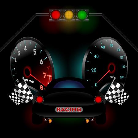 Racing theme.