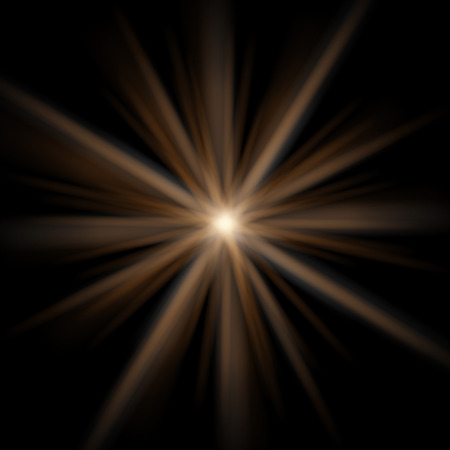 Abstract flare background. Transparent flare star effect.
