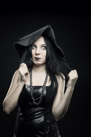 witchery: Pretty funny with posing over dark background