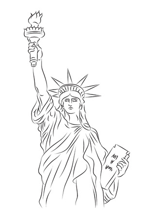 Statue of Liberty Stock Vector - 8152640