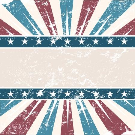Vecchi sfondo di colori americano