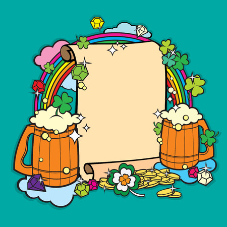 barmaid: Beer Party Banner