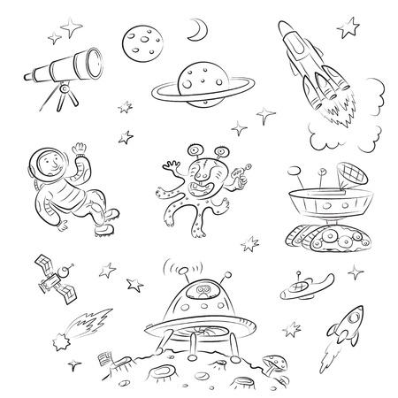 cohetes: Conjunto de espacio  Vectores