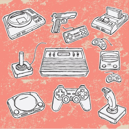 Computer games Illustration