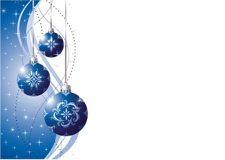 silver star: Beautiful Winter Background  Illustration