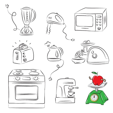 Kitchen appliance  Vector