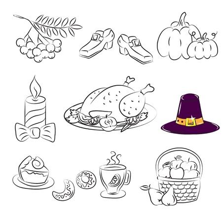 pilgrim hat: Thanksgiving Set