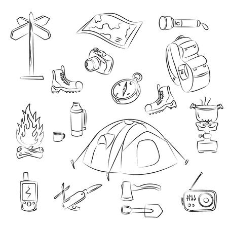 Camping Ilustração