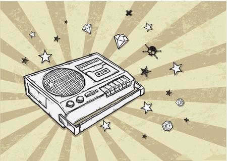 recorder: Retro Tape Recorder