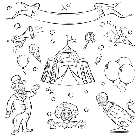 marquee tent: Circus