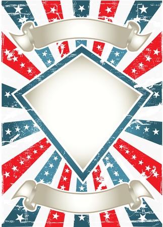 american poster: Cartel American Vintage