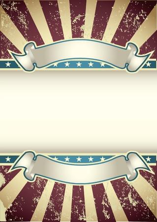 american poster: Fondo Vintage