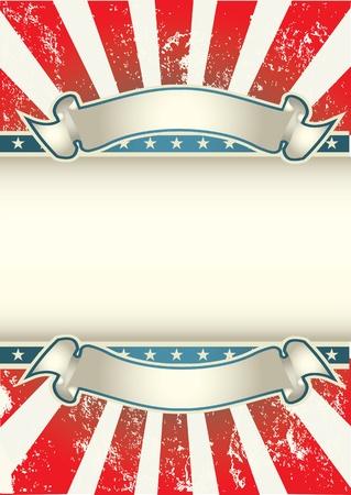 independencia: EE.UU. Los colores del cartel Vectores