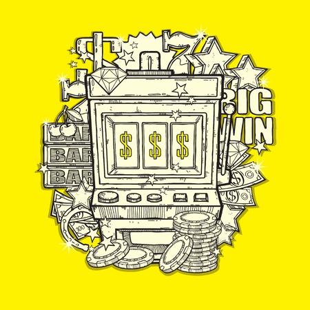 jackpot: Machine � sous Illustration