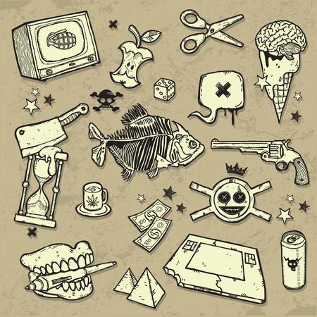 dientes sucios: Mezcla de elementos de dise�o