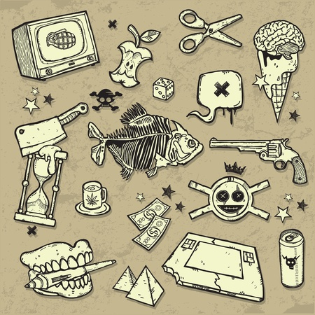 MIX of design elements Vector