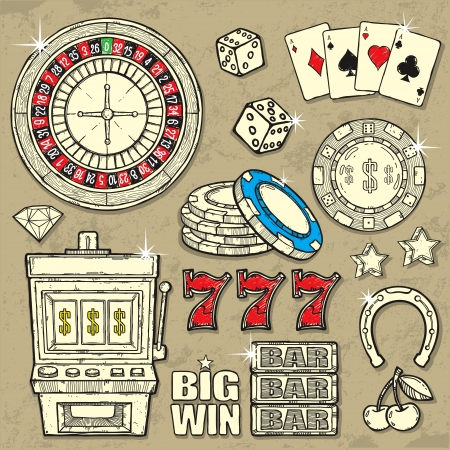 roulette table: Casino Set