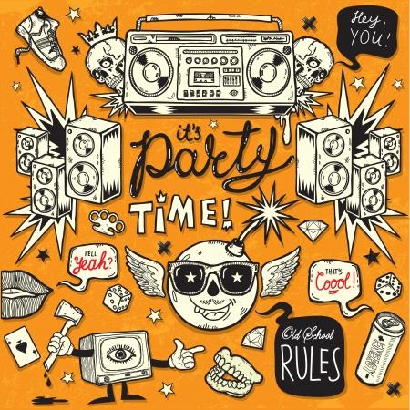 dientes sucios: Old School Party Style