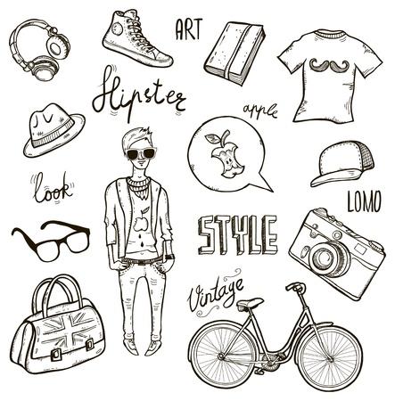 indie: Hipster set