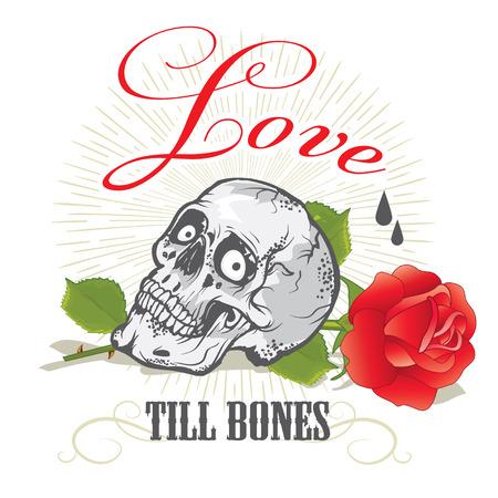 tatouage ange: Bonne conception de la carte Saint Valentin avec des ornements, des coeurs, des rubans, des fl�ches et du texte. Isol� sur fond transparent. Facile � modifier.