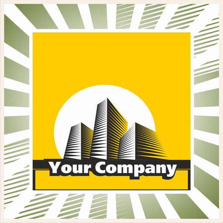 prospects: brand, symbol, building, city Illustration
