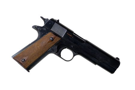weaponry: The pistol of american`s officers in second world war