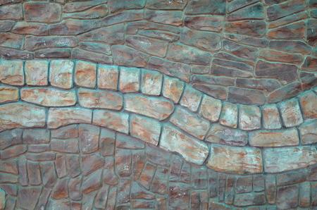 Achtergrond van wilde steen. Stockfoto