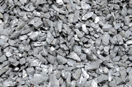 石炭無煙炭濃縮細粒は、クローズ アップが撮影されます。