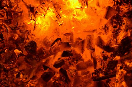 A vibrant graphic resource consists of burning coal with wood.