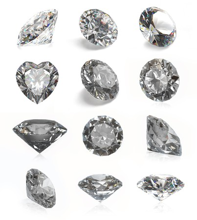 zircon: Diamonds collection