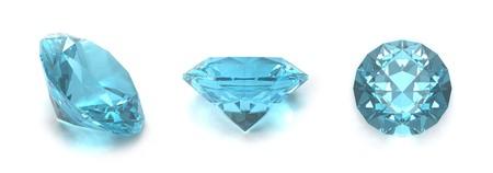 topaz: Blue topaz gems