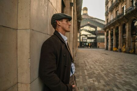 Old Fashion Man from the 1920s england Banque d'images