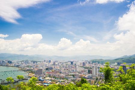 and sanya: Overview of Sanya city, Hainan Province, China