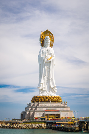 bodhisattva: The Guan Yin of the South Sea of ??Sanya is a 108-metre statue of the bodhisattva Guan Yin, located near the Sanya City on Hainan Island, China.