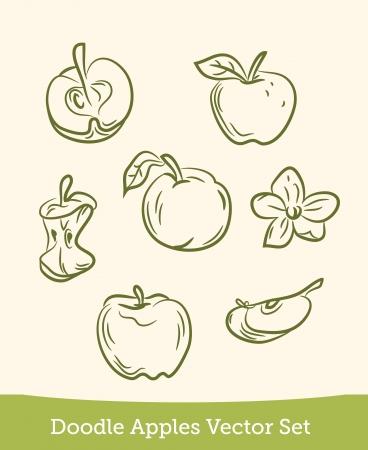 doodle apple set