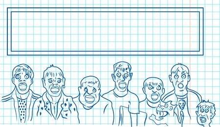 doodle boys Illustration