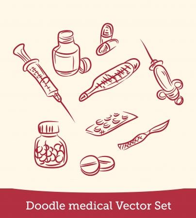 doodle medical set