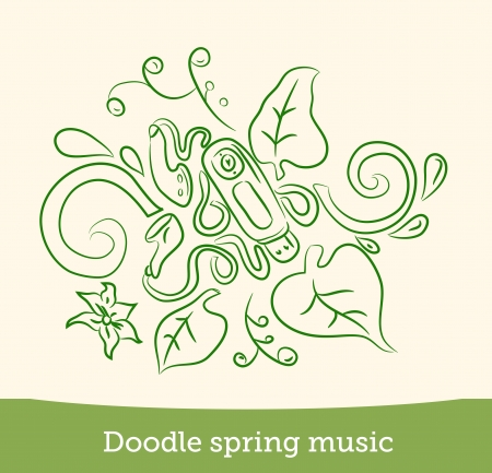 doodle spring music