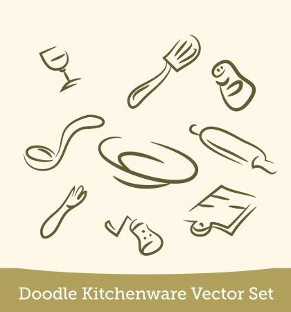 doodle kitchen set