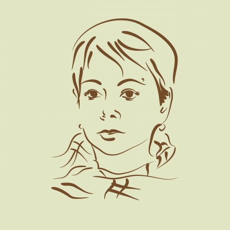 woman portrait Vector
