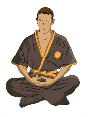 martial Arts master Vector