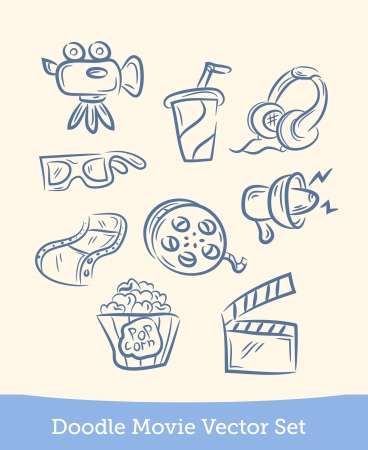 movie set: doodle movie set