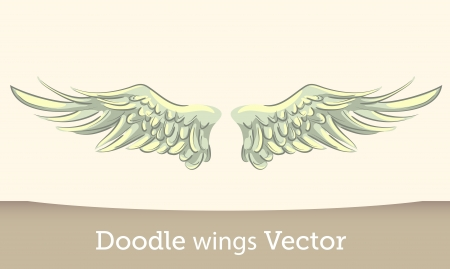 tattoo wings: Vector Wings