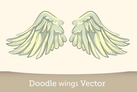 deslizamiento: Alas vectoriales Vectores