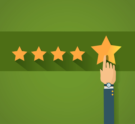review: Flat design customer review