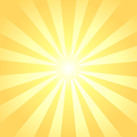 A sun rays background.