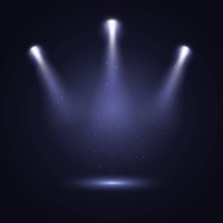 Spotlight background. 向量圖像