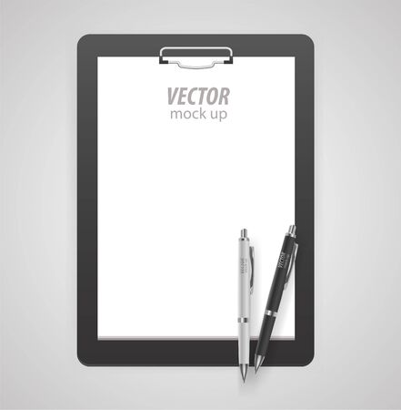 Premium corporate identity template set. Business stationery mock-up with logo . Vector illustration.