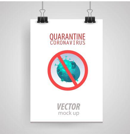 Illustrations concept coronavirus COVID-19. Vector illustration. 向量圖像